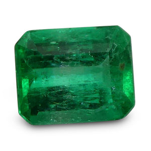 0.67 ct Emerald Cut Colombian Emerald