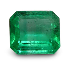 Emerald 0.8 cts 6.45x5.66x3.04mm Emerald Cut Green  $240