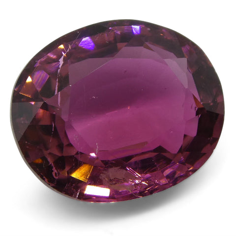 7.5ct Pink Tourmaline Oval