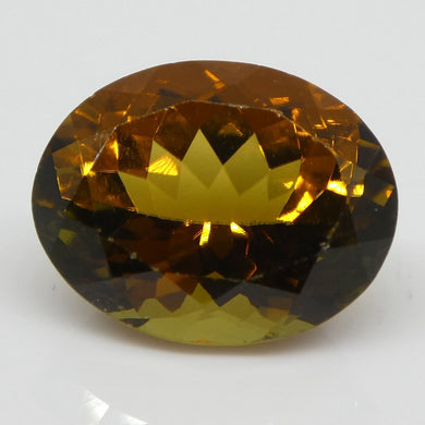 2.83ct Yellow Tourmaline Oval - Skyjems Wholesale Gemstones