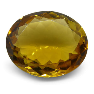 3.02ct Yellow Tourmaline Oval - Skyjems Wholesale Gemstones