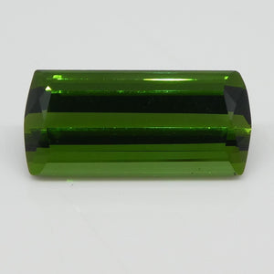 Green Tourmaline 4.57cts 14.30x6.83x5.15mm Rectangle Green $225