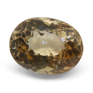 3.55ct Oval Yellow Tourmaline - Skyjems Wholesale Gemstones