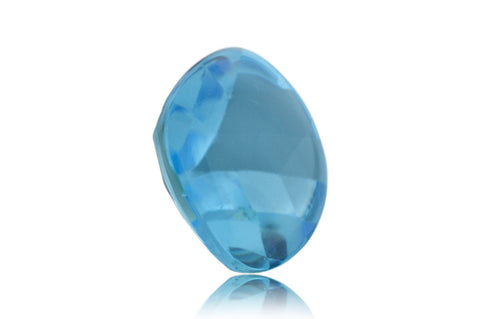 13 ct Genuine 15 x 15 mm Cushion Sky Blue Topaz Natural Gem