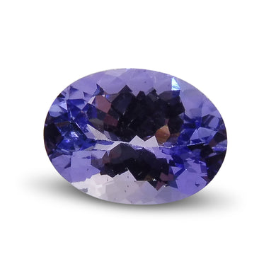 1.43 ct Oval Tanzanite