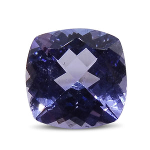 1.67 ct Cushion Tanzanite