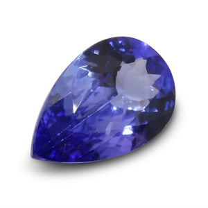 2.49 ct Pear Tanzanite IGI Certified with Inscription