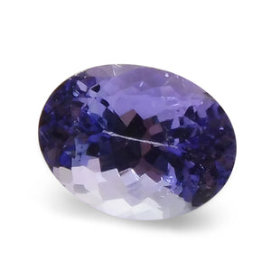 2.42 ct Oval IGI Certified Tanzanite