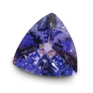 2.33 ct Trillion IGI Certified Tanzanite