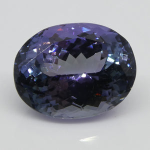 Tanzanite 4.43cts 11.17x8.80x6.22mm Oval Bluish Violet $400