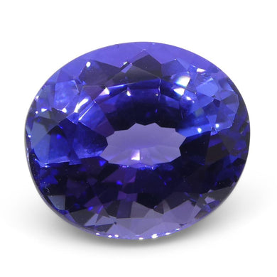 3.77ct Oval Tanzanite - Skyjems Wholesale Gemstones