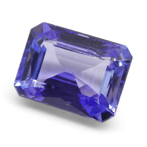 2.77ct Emerald Cut Tanzanite - Skyjems Wholesale Gemstones