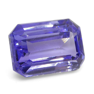 3.16ct Emerald Cut Tanzanite - Skyjems Wholesale Gemstones