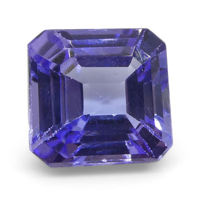 2.90ct Square Tanzanite - Skyjems Wholesale Gemstones
