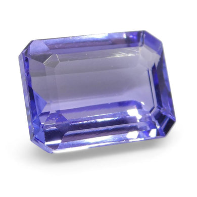 4.23ct Emerald Cut Tanzanite - Skyjems Wholesale Gemstones