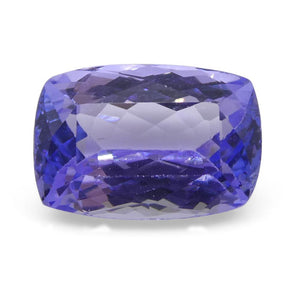 2.65ct Cushion Tanzanite - Skyjems Wholesale Gemstones
