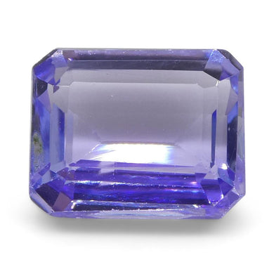 2.35ct Emerald Cut Tanzanite - Skyjems Wholesale Gemstones