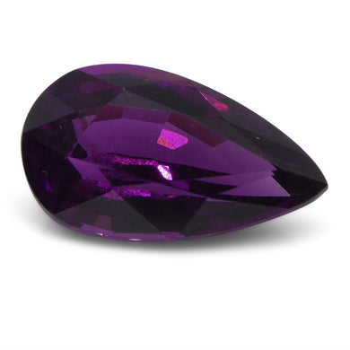 2.32 ct Rhodolite Garnet Pear Fine Purple (Umbalite) - Skyjems Wholesale Gemstones