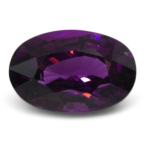2.58 ct Rhodolite Garnet Oval Fine Purple (Umbalite) - Skyjems Wholesale Gemstones