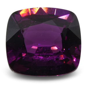 Rhodolite Garnet 2.01 cts 7.61x7.06x3.94mm Cushion Purple  $300