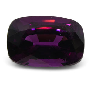Rhodolite Garnet 1.83 cts 8.39x5.64x4.12mm Cushion Slightly Reddish Purple - Purple  $150