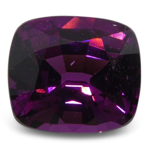 Rhodolite Garnet 1.83 cts 7.29x6.49x4.35mm Cushion Slightly Reddish Purple - Purple  $150