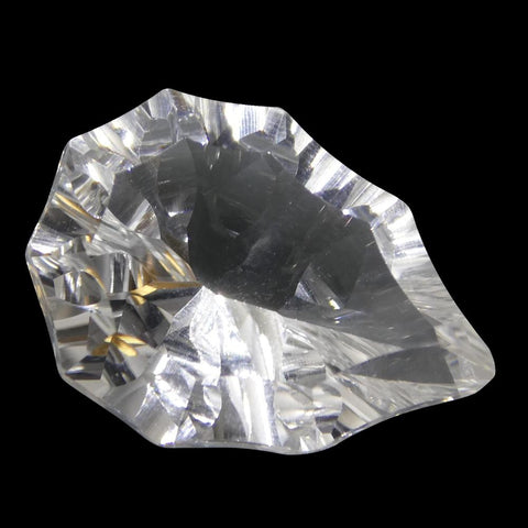 8.94ct Pear White Quartz Fantasy/Fancy Cut