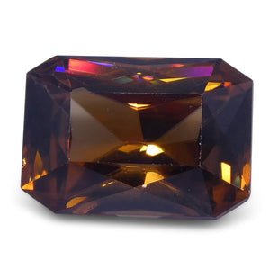 3.62 ct Orange Zircon Radiant Extremely Fine Quality - Skyjems Wholesale Gemstones