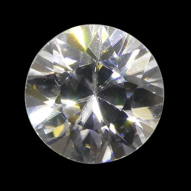 1.89 ct Round White/Clear Zircon