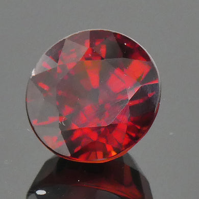2.12ct Round Red Zircon - Skyjems Wholesale Gemstones