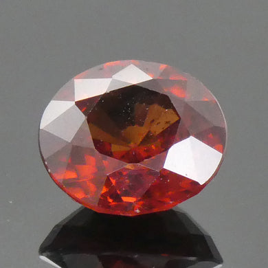1.83ct Round Orange Zircon - Skyjems Wholesale Gemstones