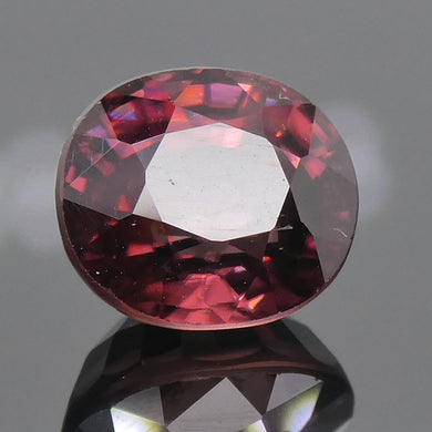 2.37ct Cushion Red Zircon - Skyjems Wholesale Gemstones