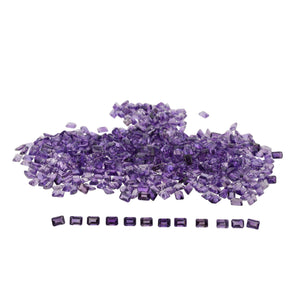 AMETHYST 110cts 203st 7x5mm Emerald Cut WHOLESALE LOT