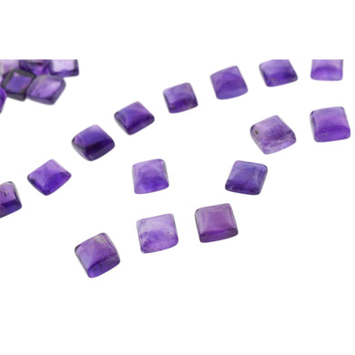 AMETHYST 110 cts 34st Cabochon/Cab Square WHOLESALE LOT