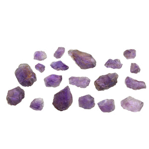Amethyst 1200 cts 18st Rough/Mixed Shape WHOLESALE LOT