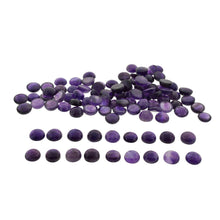 Amethyst 200 cts 21st 14mm Cabochon/Cab Round Wholesale Lot
