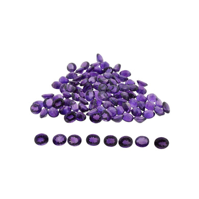 AMETHYST 200 cts 47st Oval WHOLESALE LOT