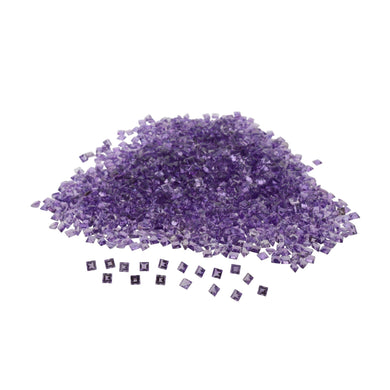 AMETHYST 200 cts 650st Square WHOLESALE LOT
