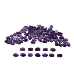 AMETHYST 350cts 35st 16x12mm Cabochon/Cab Oval WHOLESALE LOT