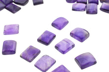 AMETHYST 435cts 66st Cabochon/Cab 12x10mm Emerald Cut WHOLESALE LOT