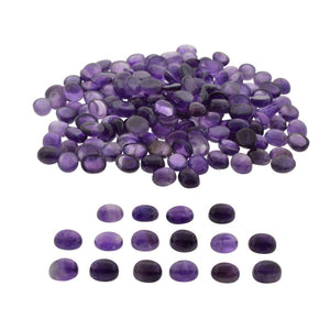 AMETHYST 490 cts 99st Cabochon/Cab Oval WHOLESALE LOT