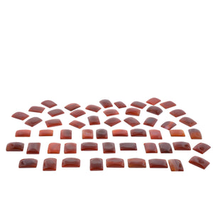 CARNELIAN 750 cts 27st Emerald Cut WHOLESALE LOT - Skyjems Wholesale Gemstones