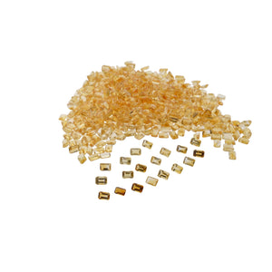 CITRINE 100cts 160st 6x4mm Emerald Cut WHOLESALE LOT