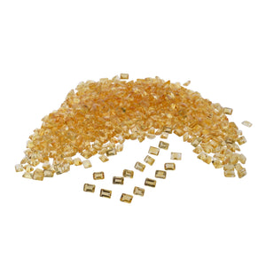 CITRINE 100cts 97st 7x5mm Emerald Cut WHOLESALE LOT
