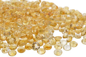 CITRINE 54.6 cts 78st Round WHOLESALE LOT