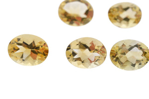 CITRINE 225cts 136st 9x7mm Oval WHOLESALE LOT