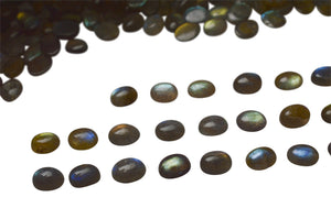 Labradorite 300cts 144st 9x7mm Oval WHOLESALE LOT