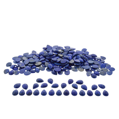 LAPIS LAZULI 350cts 36st 18x13mm Pear WHOLESALE LOT