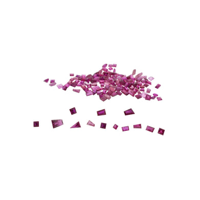 Ruby 7.8 cts 137st Square/Baguette Wholesale Lot