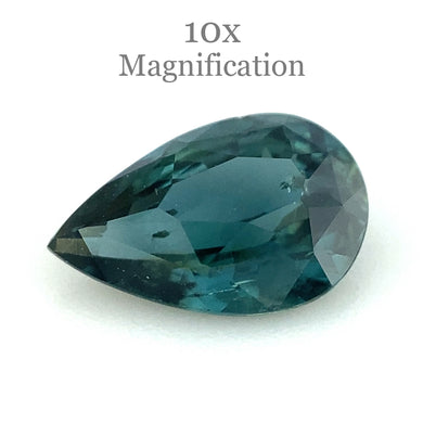 0.91ct Pear Teal Blue Sapphire - Skyjems Wholesale Gemstones